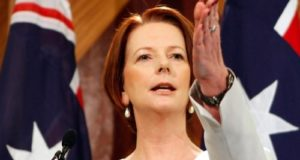 Julia Gillard Puts the Smackdown On Political Misogyny In Australia