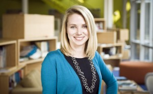 Yahoo! CEO Marissa Mayer Spills On How She Balances Baby With Her Job