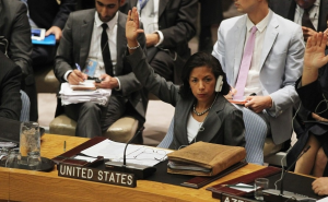 Susan Rice Says It's A Problem When Women Are Victimized For Their Gender