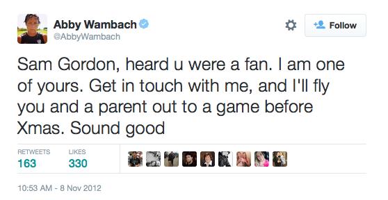 abby-wambach-sam-gordon-tweet