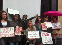 Teen Girls Protest Outside Seventeen Magazine Offices To Stop Dangerous Photoshop Trends