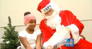 Santa Comes Early For Deaf Girl Who Wished For The Gift Of Hearing