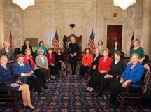"""The Sky's The Limit"" US Congress Swears In A Record-Breaking 20 Female Senators."