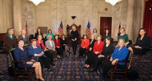 """The Sky's The Limit"" US Congress Swears In A Record-Breaking 20 Female Senators."