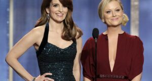 """It Was A Great Year For Women In Television & Film"" Amy And Tina Shine As Golden Globe Hosts"