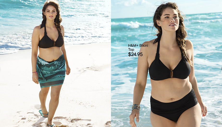 281eabab96b19 How Dare They! H M Uses Plus Size Model In A Campaign Without ...