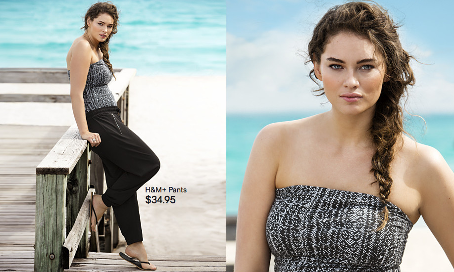 How Dare They! H&M Uses Plus Size Model In A Campaign Without ...