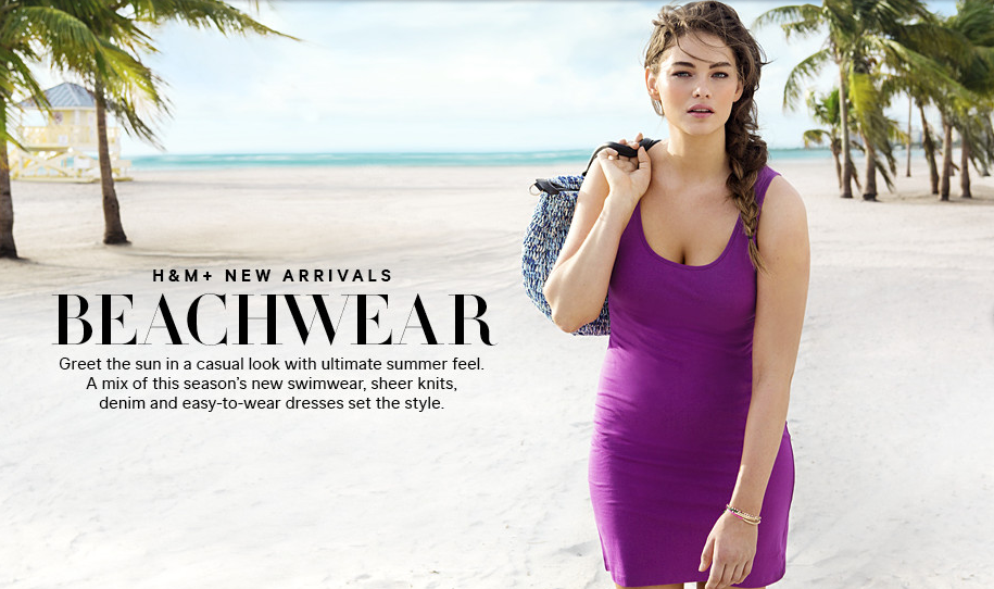 b7fbf26c589bf How Dare They! H M Uses Plus Size Model In A Campaign Without Pointing It  Out