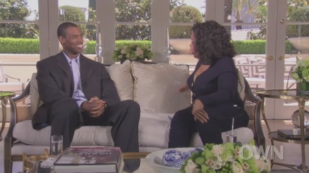 Jason Collins with Oprah Winfrey
