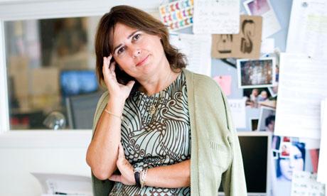 Alexandra Shulman, editor of British Vogue.