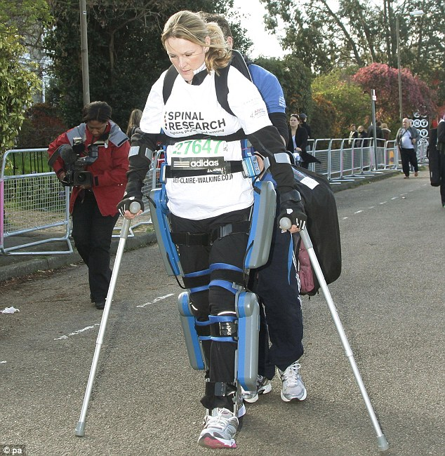 Claire Lomas Bionic Suit