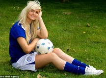To Become 'Miss England' You Have To Bend It Like Beckham