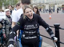 Paraplegic Woman Defies Doctors To Complete London Marathon On Legs!