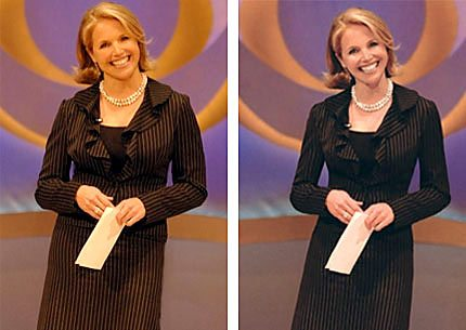 Katie Couric Photoshopped