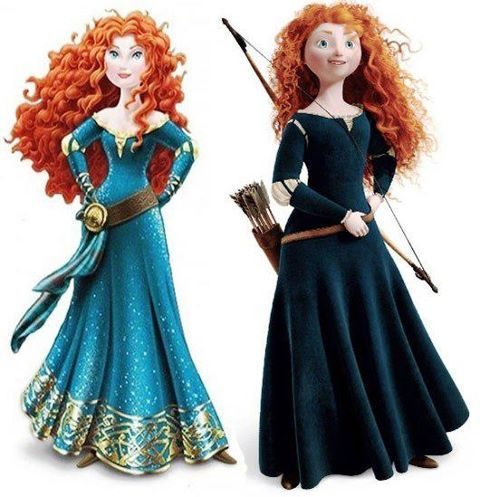 Princess Merida makeover