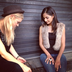 Asha & Caitlin