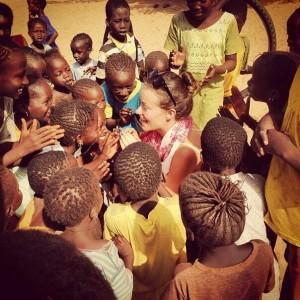 Olivia Wilde, Senegal kids