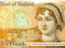 England Finally Putting Women In Their Place: On The Money!