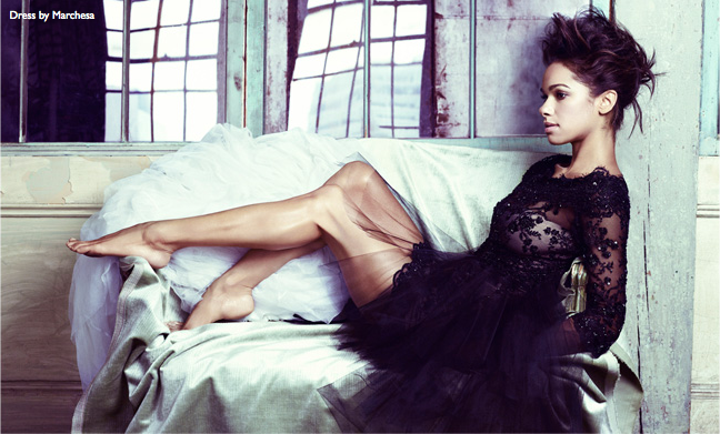 Misty Copeland for Net-a-porter
