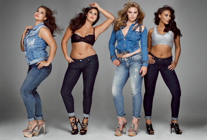 How Dare They H M Uses Plus Size Model In Regular Campaign