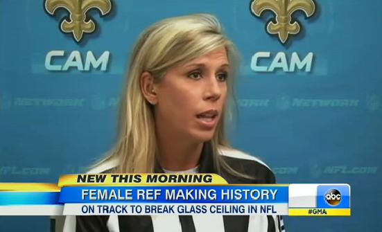Sarah Thomas, NFL Referee