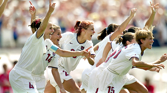 Women's World Cup team 1999
