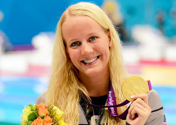 Mallory Weggemann London Olympics