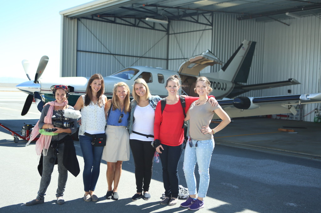 EP girls with Pilot