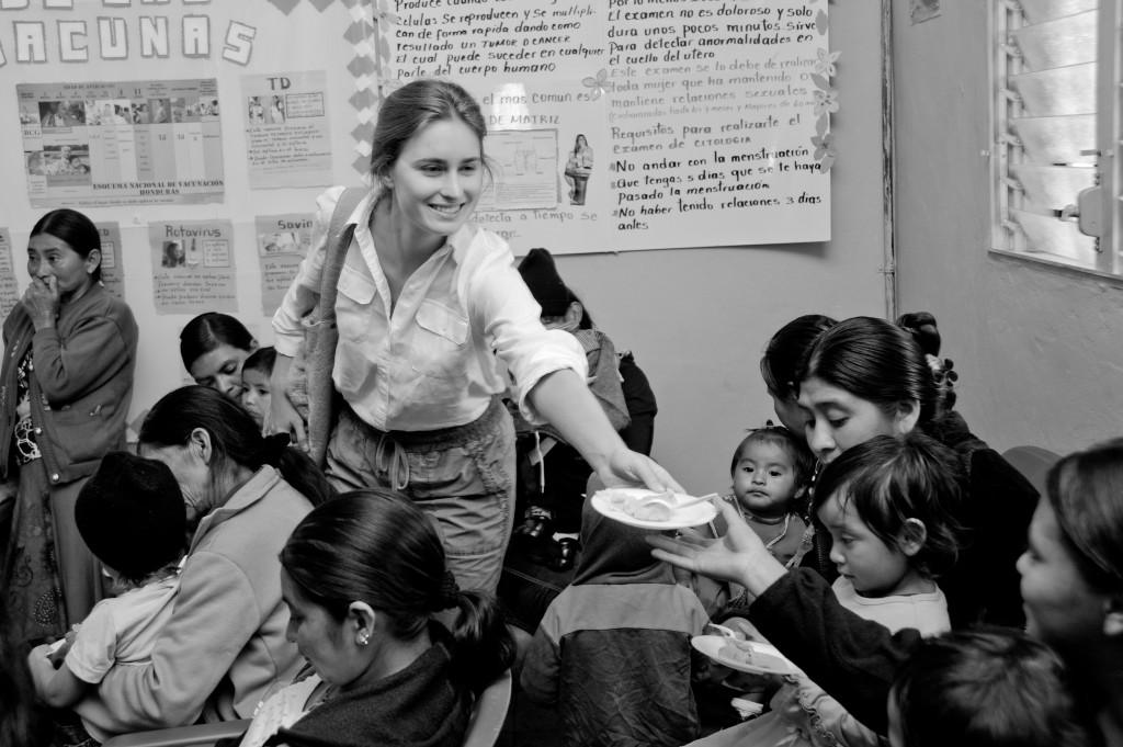 Lauren Bush in Honduras