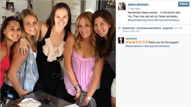 Ellen instagram pic