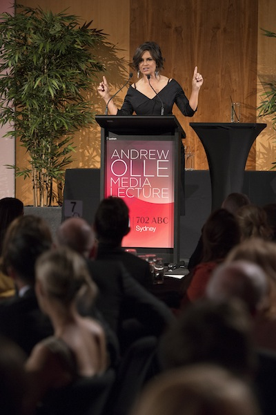 Lisa Wilkinson, Andrew Olle Lecture