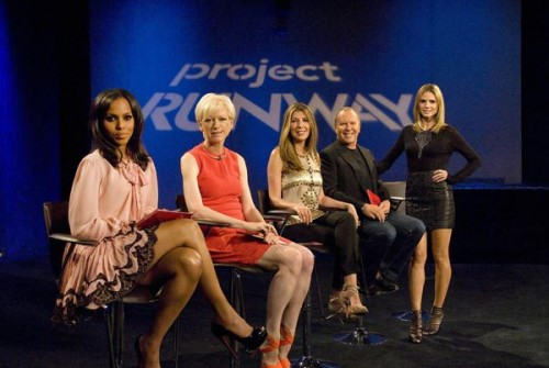 Joanna Coles on Project Runway