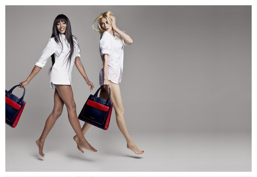 Claudia Schiffer & Naomi Campbell