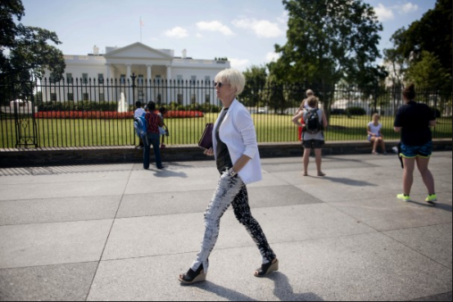 Joanna Coles in DC