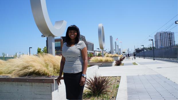 Aja Brown Compton Mayor