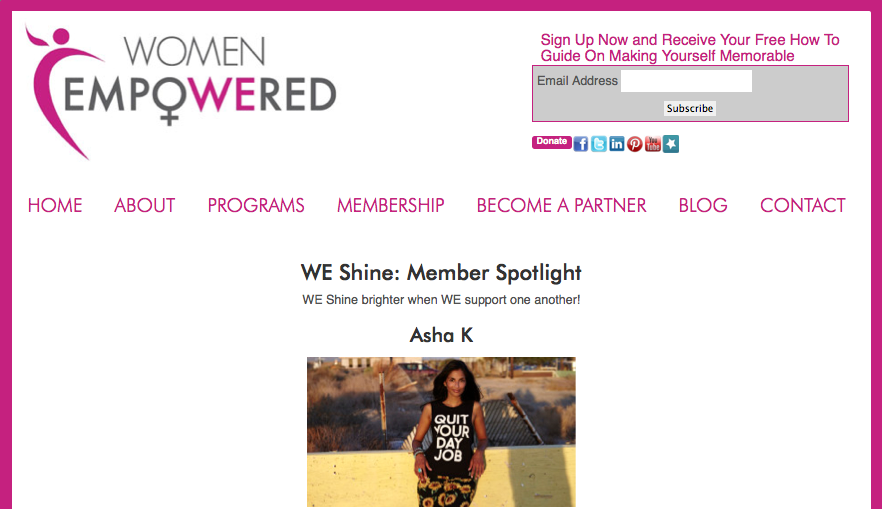 Our Feature On Women Empowered