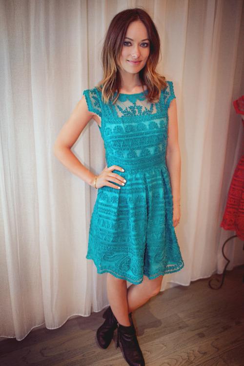 Olivia Wilde New Light Dress
