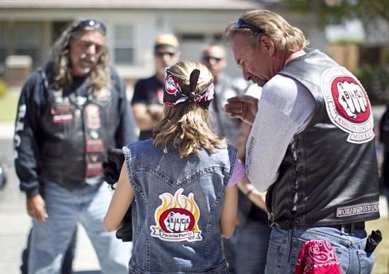 Biker Against Child Abuse