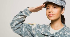 Latina Woman Making History In the US Marine Corps
