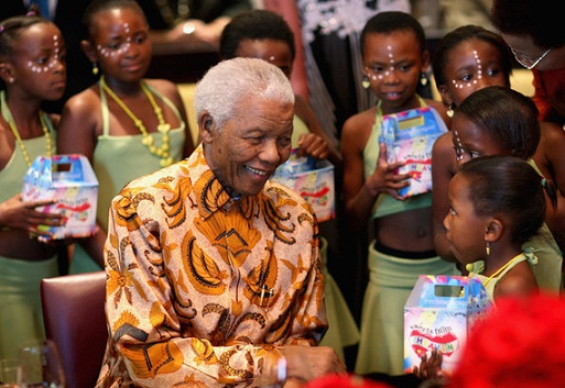 Nelson-Mandela-children