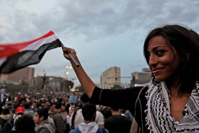 egyptian-women-protest