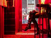 Amsterdam's Red light District Shocked By This Campaign To Stop Trafficking