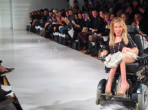 New York Fashion Week Show With A Model In A Wheelchair? You Better Believe It!