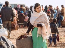 Education Activist Malala Raising Awareness For The Forgotten Syrian Children
