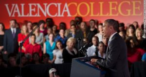 President Obama Starts Campaign Tour For Gender Equality In America