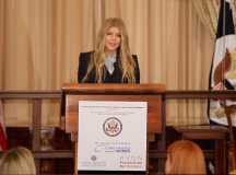 Singer Fergie Joins The Fight To End Violence Against Women Worldwide