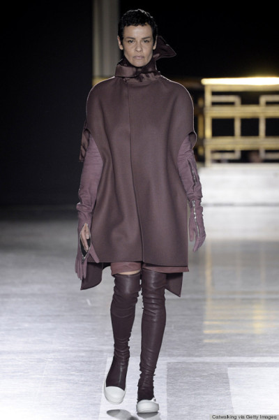 Rick Owen - Runway RTW - Fall 2014 - Paris Fashion Week