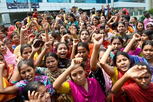 Bangladesh-garment-workers-protest