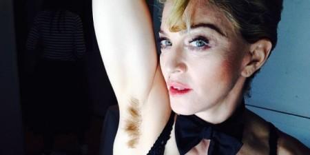 Madonnas-Hairy-Armpits-