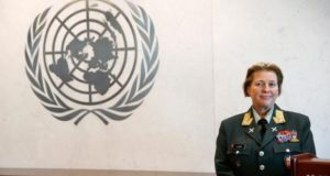 UN Appoints First Female Commander Of Peacekeeping Force